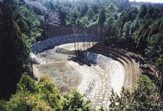 富士山足取川渓流保全工事