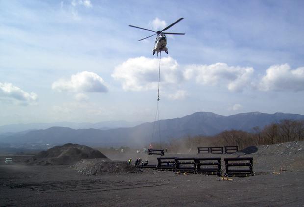 平成21年度 富士山防災調査工事