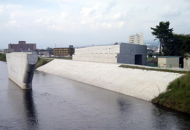国道139号蓼原高架橋下部工事