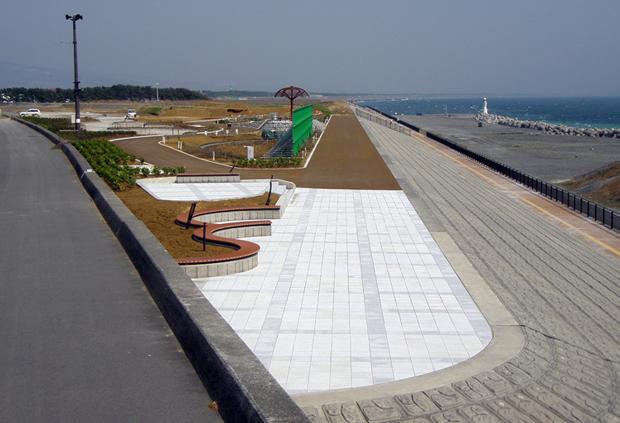 平成19年度 田子の浦港富士緑地整備工事